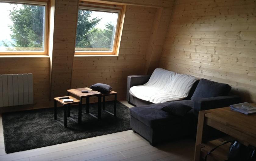 Location de vacances - Appartement à Super Lioran - salon