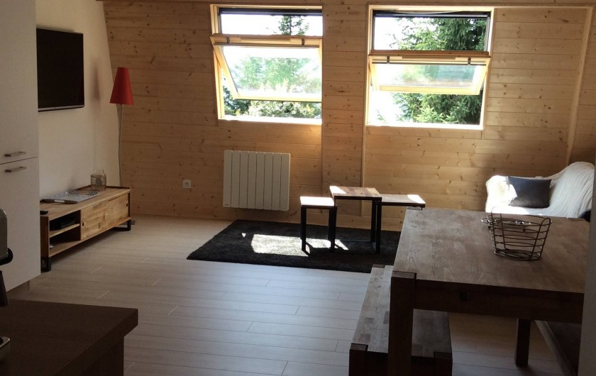 Location de vacances - Appartement à Super Lioran - salon