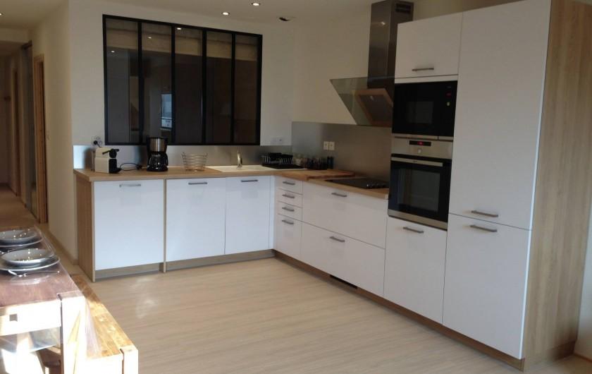 Location de vacances - Appartement à Super Lioran - cuisine