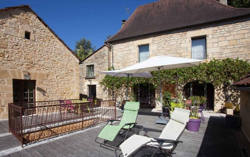 Location de vacances - Chambre d'hôtes à Carsac-Aillac - Salle d'eau chambre Lilas.
