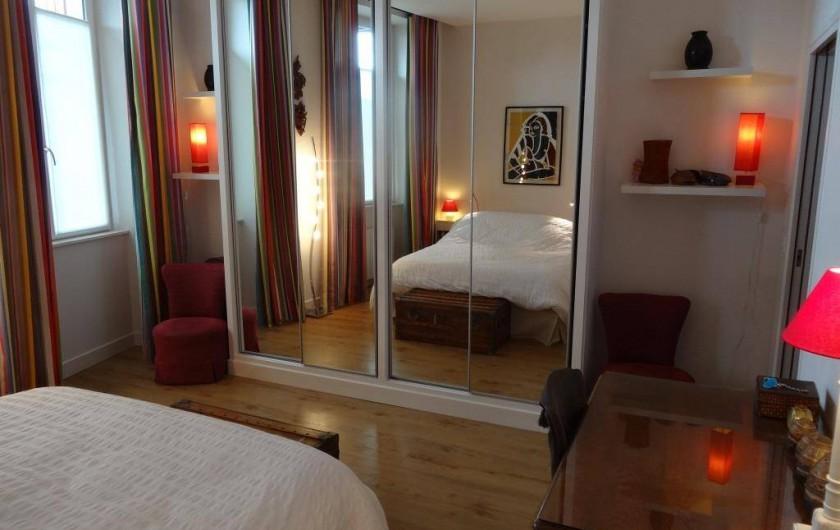 Location de vacances - Appartement à Saint-Jean-de-Luz - La grande chambre