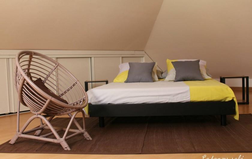 Location de vacances - Maison - Villa à Etang-Salé les Hauts - Chambre étage 20 m2
