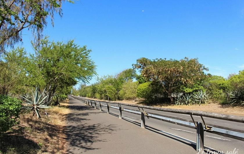 Location de vacances - Maison - Villa à Etang-Salé les Hauts - piste cyclable proche du logement