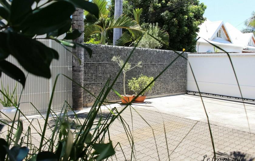 Location de vacances - Maison - Villa à Etang-Salé les Hauts - Entrée indépendante / portail automatique