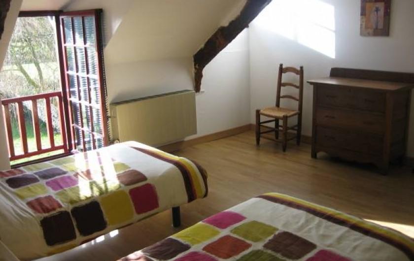 Location de vacances - Villa à Pléneuf-Val-André - Chambre 3 en mézanine