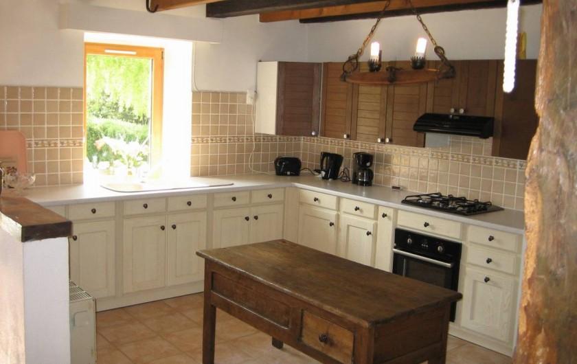 Location de vacances - Villa à Pléneuf-Val-André - Cuisine américaine