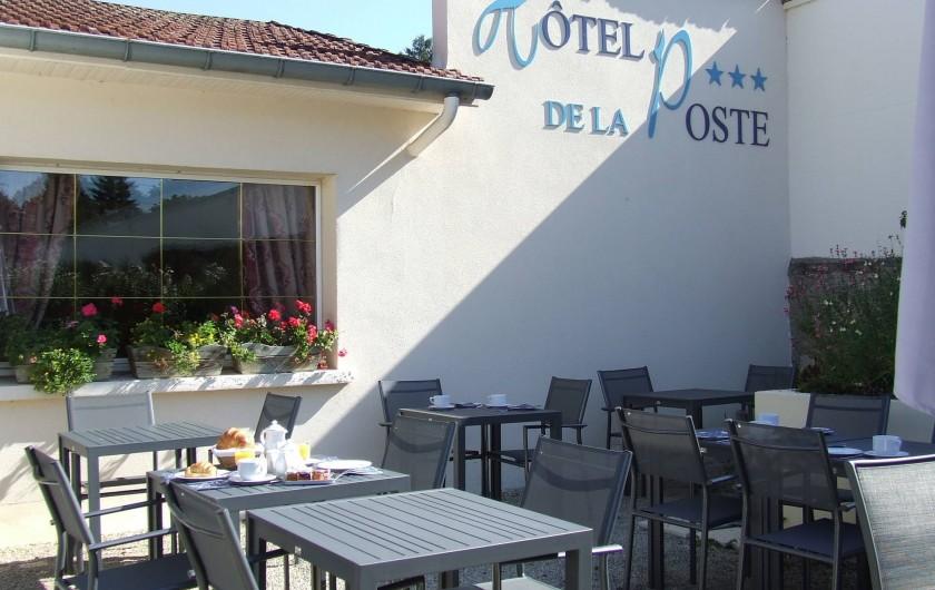 Location de vacances - Hôtel - Auberge à Chagny - La terrasse