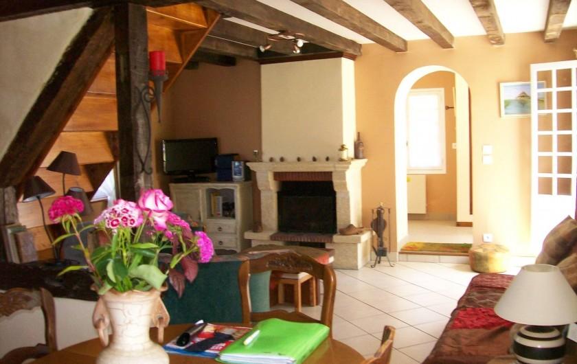 Location de vacances - Gîte à Nonant-le-Pin - intérieur rez de chaussée