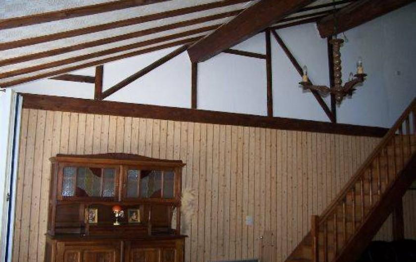 Location de vacances - Villa à Belcaire - accés à la mezzanine