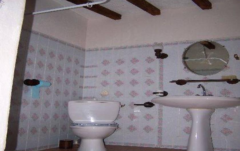 Location de vacances - Villa à Belcaire - Salle de bains