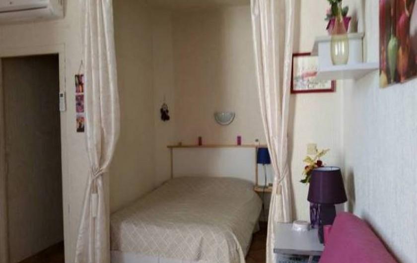 Location de vacances - Studio à Nice - chambre