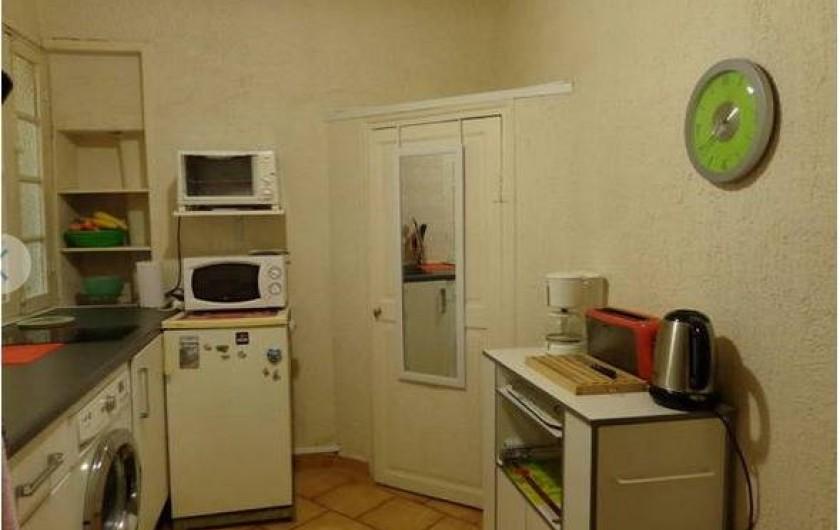 Location de vacances - Studio à Nice - Cuisine équipée