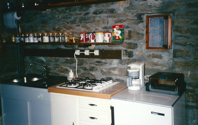 Location de vacances - Gîte à Sablières - le coin cuisine