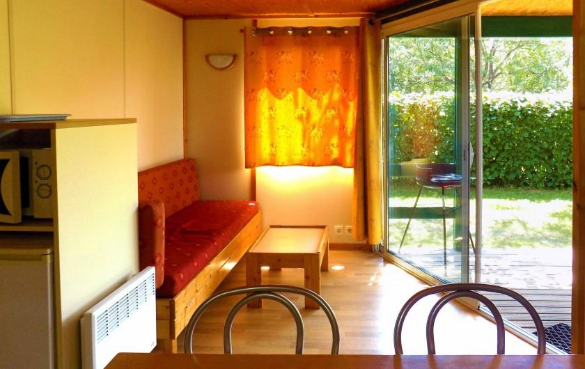 Location de vacances - Chalet à Sarlat-la-Canéda - Coin salon