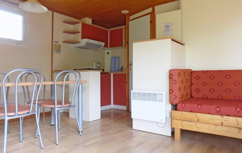 Location de vacances - Chalet à Sarlat-la-Canéda - Le chalet Rêve pour 5 personnes