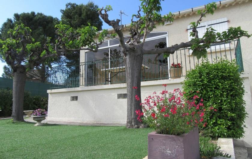 Location de vacances - Gîte à Puimisson - façade sud