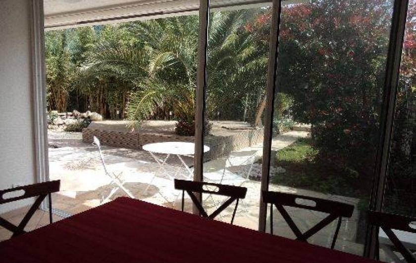 Location de vacances - Villa à Sète - vue de la salle à manger