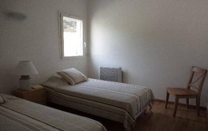Location de vacances - Villa à Sète - chambre 1 à l'étage