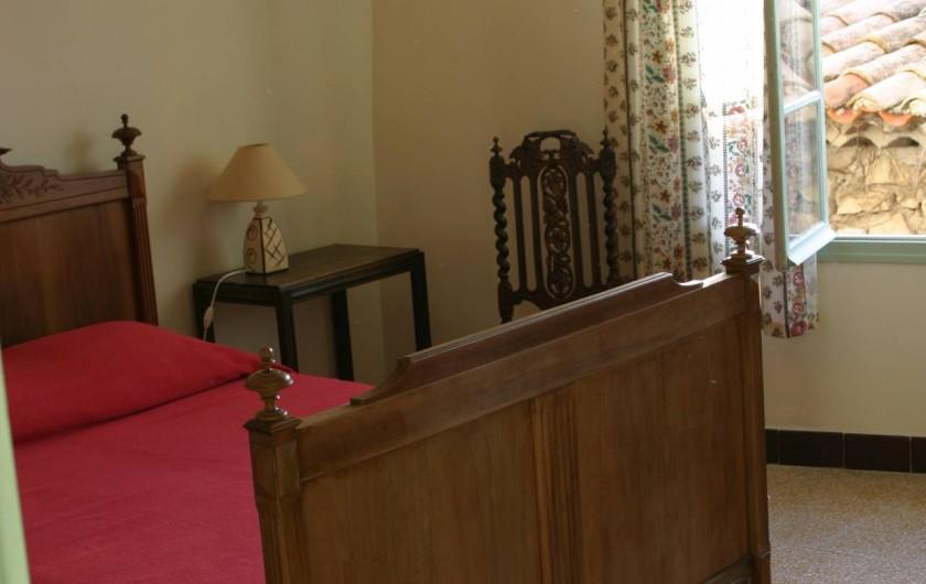Location de vacances - Villa à Le Barroux - Chambre ouest