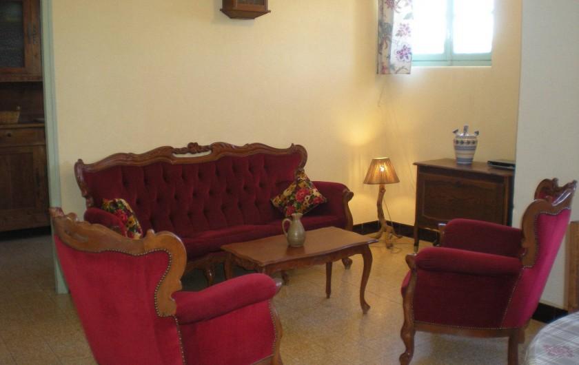 Location de vacances - Villa à Le Barroux - Le salon