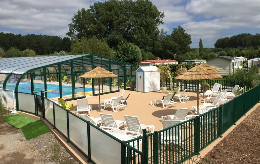 Location de vacances - Bungalow - Mobilhome à Tortefontaine - PISCINE ET SOLARIUM