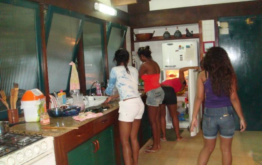 Location de vacances - Villa à Armação dos Búzios - La cuisine en fête
