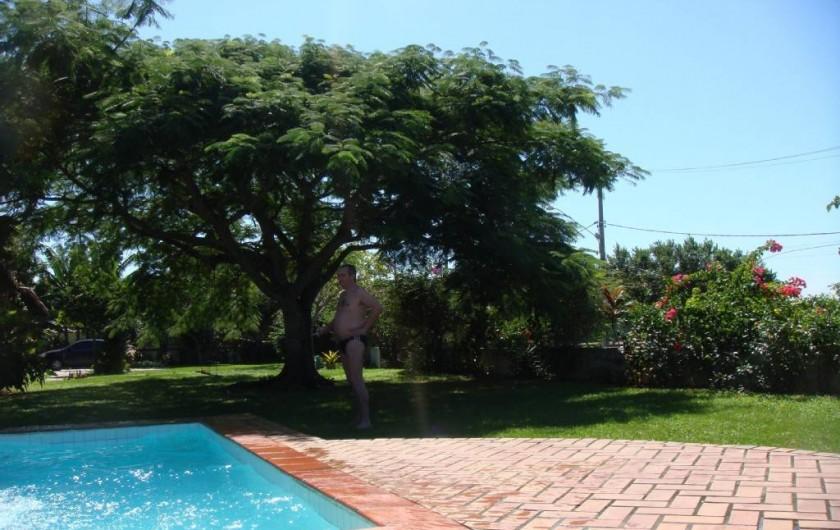 Location de vacances - Villa à Armação dos Búzios - la piscine et le jardin