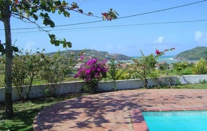 Location de vacances - Villa à Armação dos Búzios - Vue de la piscine