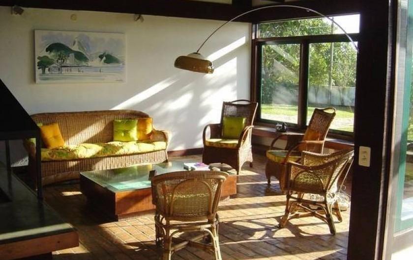 Location de vacances - Villa à Armação dos Búzios - Le salon principal