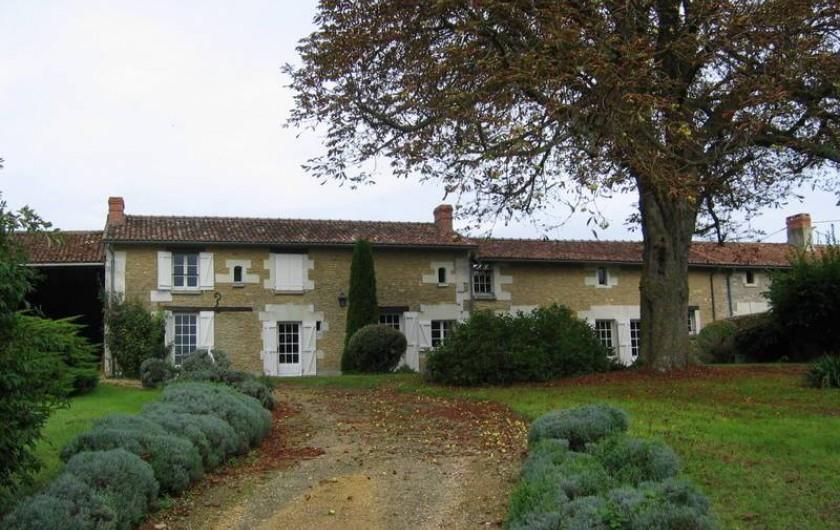 Location de vacances - Maison - Villa à Verrue - Vue générale de la maison