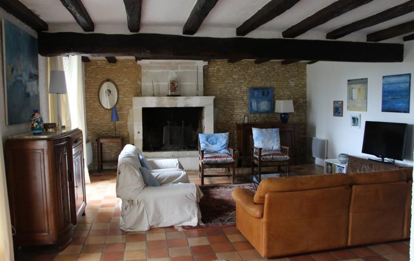 Location de vacances - Maison - Villa à Verrue - Le Salon