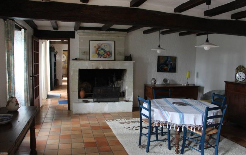 Location de vacances - Maison - Villa à Verrue - La Salle à manger