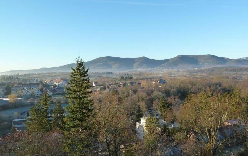 Location de vacances - Appartement à Obernai