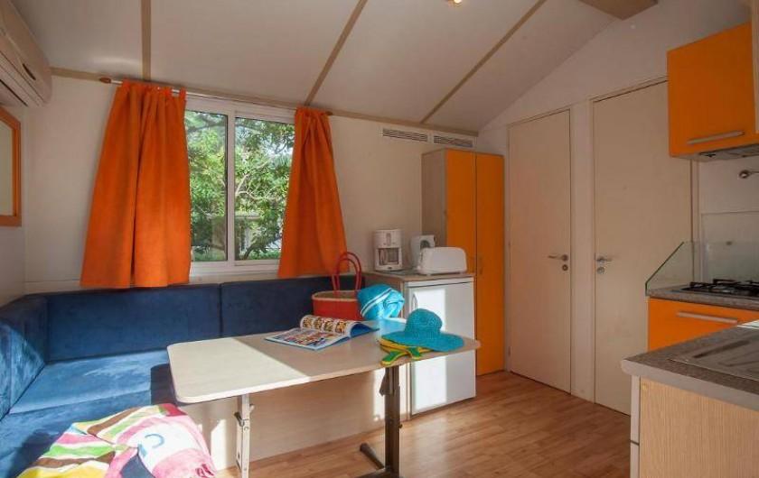 Location de vacances - Bungalow - Mobilhome à Palau-del-Vidre - Cottage 5 Pers