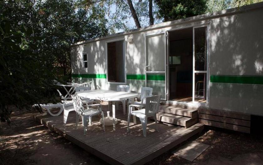 Location de vacances - Bungalow - Mobilhome à Palau-del-Vidre - Mobile-Home 4 Pers Classique
