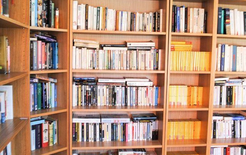 Location de vacances - Bungalow - Mobilhome à Palau-del-Vidre - Bibliothèque