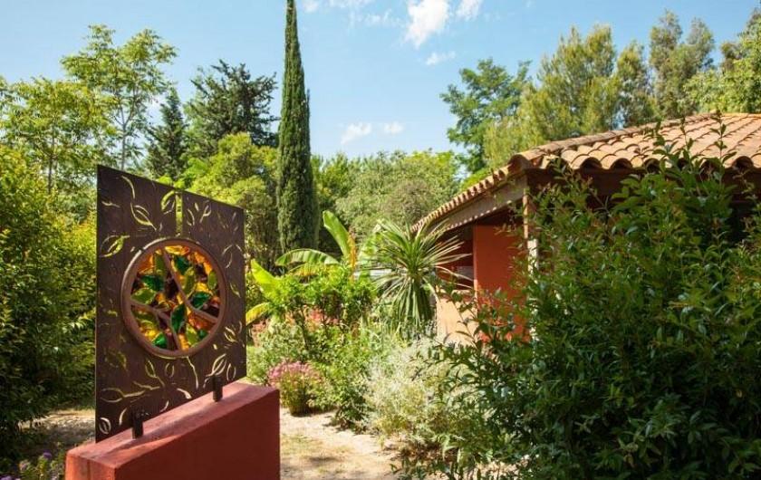Location de vacances - Bungalow - Mobilhome à Palau-del-Vidre - Espaces verts