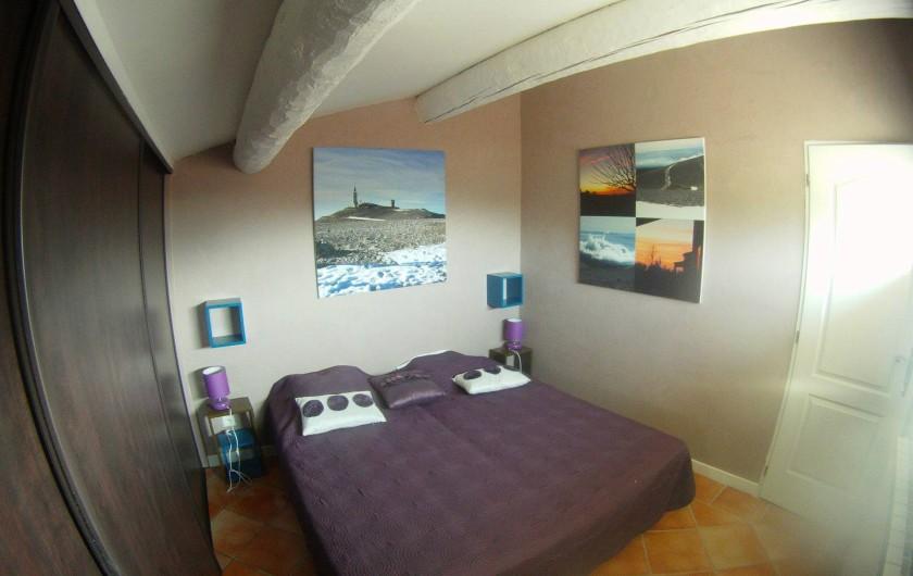 Location de vacances - Villa à Saint-Pierre-de-Vassols - chambre Ventoux