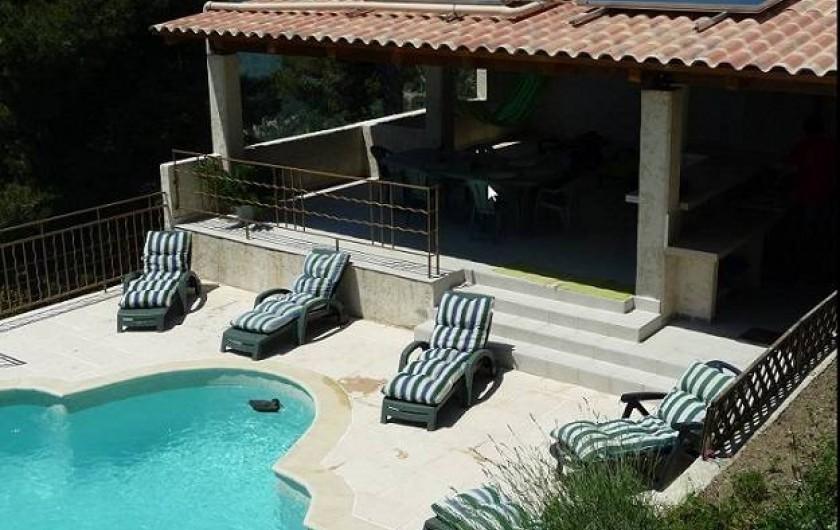 Location de vacances - Villa à La Roquette-sur-Var