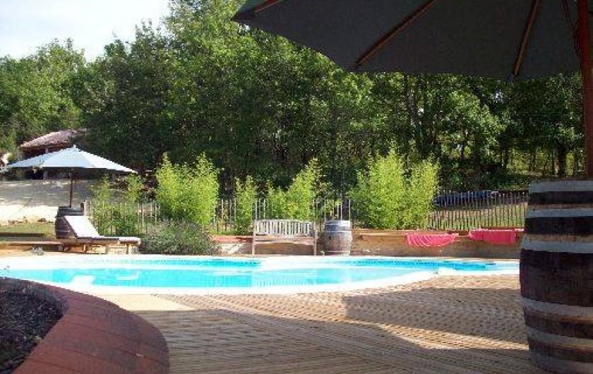 Location de vacances - Villa à Salviac - La piscine de 9m x 6m