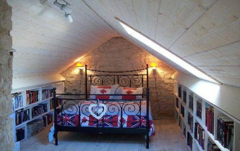 Location de vacances - Villa à Salviac - La chambre 2 lit double 140 x 200 lit simple 90 x 200
