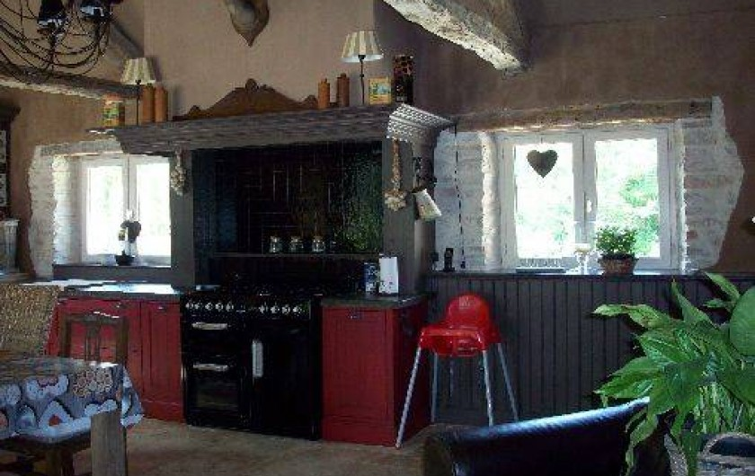 Location de vacances - Villa à Salviac - La cuisine complètement équipée