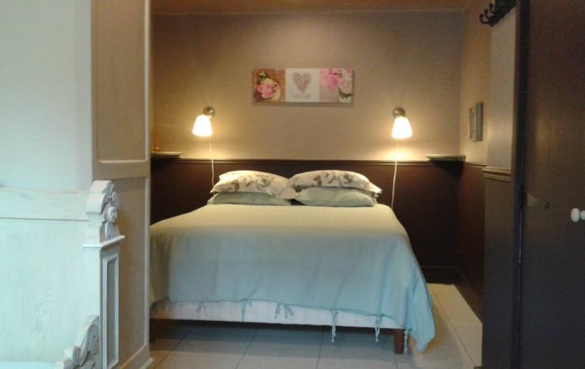 Location de vacances - Villa à Salviac - La chambre 3  Lit double 160 x 200