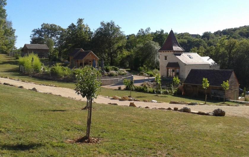 Location de vacances - Villa à Salviac - La maison de 240m2 au milieu de 4ha nature