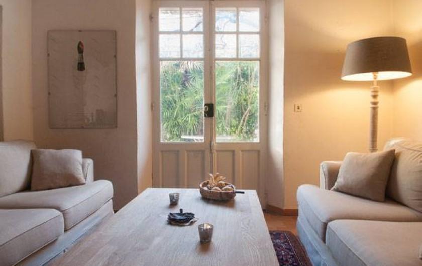 Location de vacances - Maison - Villa à Fayence - Salon