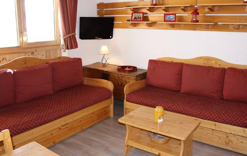 Location de vacances - Studio à Mâcot-la-Plagne - Séjour