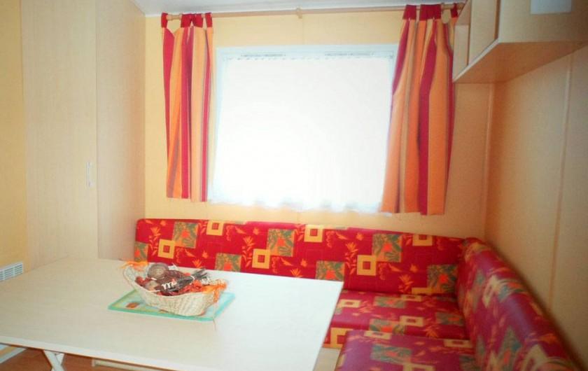 Location de vacances - Bungalow - Mobilhome à Capbreton - Espace repas