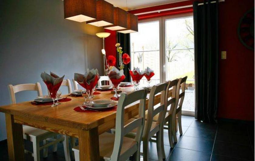Location de vacances - Maison - Villa à Libramont - salle à manger