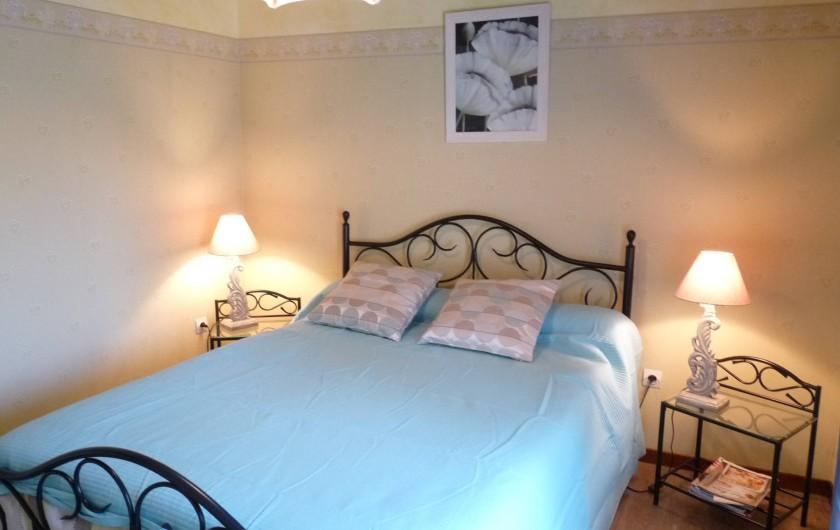 Location de vacances - Chambre d'hôtes à Dissay-Sous-Courcillon - chambre Anis 12m2