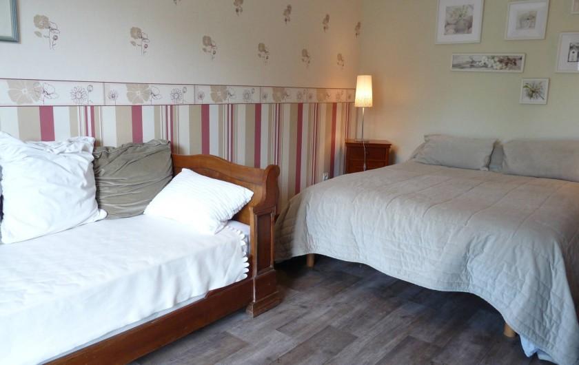 Location de vacances - Chambre d'hôtes à Dissay-Sous-Courcillon - chambre Pavot 30m2